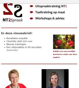 Over NT2Spraak in 2015