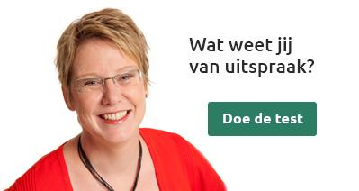 Nederlandse uitspraaktest