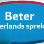 Omslag Beter Nederlands spreken